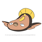 How to Draw Stunfisk from Pokemon