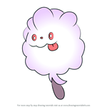 How to Draw Swirlix from Pokemon