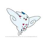 How to Draw Togekiss from Pokemon