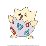 How to Draw Togepi from Pokemon