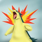 How to Draw Typhlosion from Pokemon