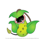 How to Draw Victreebel from Pokemon