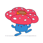 How to Draw Vileplume from Pokemon