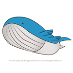 How to Draw Wailord from Pokemon