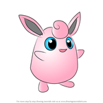 How to Draw Wigglytuff from Pokemon