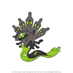 How to Draw Zygarde from Pokemon