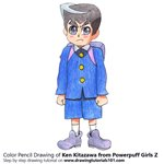 How to Draw Ken Kitazawa from Powerpuff Girls Z