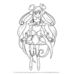 How to Draw Cure Echo from Pretty Cure