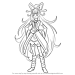 How to Draw Cure Empress from Pretty Cure