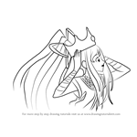 How to Draw Cure Priestess from Pretty Cure