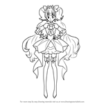 How to Draw Cure Twinkle from Pretty Cure