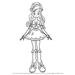 How to Draw Cure White from Pretty Cure