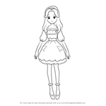 How to Draw Ha-chan from Pretty Cure