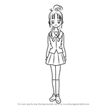 How to Draw Mishou Mai from Pretty Cure
