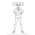 How to Draw Momozono Love from Pretty Cure