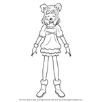 How to Draw Yumehara Nozomi from Pretty Cure