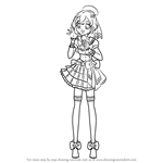 How to Draw Dorothy West from PriPara