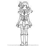 How to Draw Mami Tomoe from Puella Magi Madoka Magica