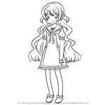 How to Draw Nagisa Momoe from Puella Magi Madoka Magica