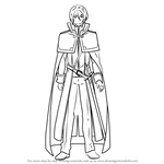 How to Draw Julius Juukulius from Re Zero