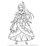 How to Draw Priscilla Barielle from Re Zero