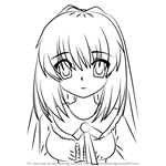 How to Draw Akari Konohana from Rewrite