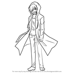 How to Draw Midou from Rewrite