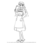 How to Draw Ikuko Tsukino from Sailor Moon