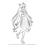 How to Draw Usagi Tsukino from Sailor Moon