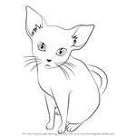 How to Draw The Cat from Shigatsu wa Kimi no Uso