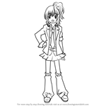 How to Draw Amu Hinamori from Shugo Chara!