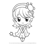How to Draw Hotaru from Shugo Chara!