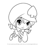 How to Draw Miki from Shugo Chara!