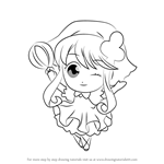 How to Draw Su from Shugo Chara!