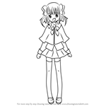 How to Draw Yaya Yuiki from Shugo Chara!