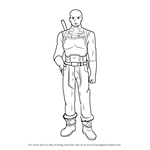 How to Draw Agil from Sword Art Online