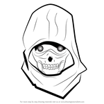 How to Draw Death Gun from Sword Art Online
