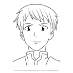 How to Draw Keita from Sword Art Online