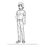 How to Draw Justice Seigi Akatsuka from Taboo Tattoo