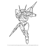 How to Draw Tekkaman Blade