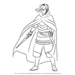 How to Draw Arslan from The Heroic Legend of Arslan