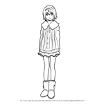 How to Draw Hinami Fueguchi from Tokyo Ghoul