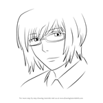 How to Draw Kishou Arima from Tokyo Ghoul