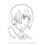 How to Draw Koori Ui from Tokyo Ghoul