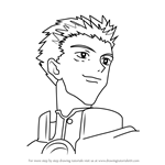 How to Draw Millions Knives from Trigun