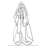 How to Draw Shizuka Hiou from Vampire Knight