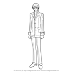 How to Draw Takuma Ichijou from Vampire Knight