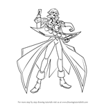 How to Draw Vellian Crowler from Yu-Gi-Oh! GX