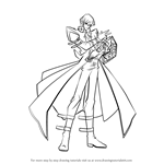How to Draw Seto Kaiba from Yu-Gi-Oh!