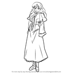 How to Draw Cattleya de La Fontaine from Zero no Tsukaima